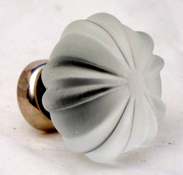 Decorative glass knobs traditional cabinet and drawer knobs
