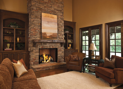 How Long Should The Mantle Protrude On Each Side Of The Fireplace