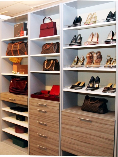 Floor-Based Closet System - Contemporary - Closet Storage - other metro - by More Space Place