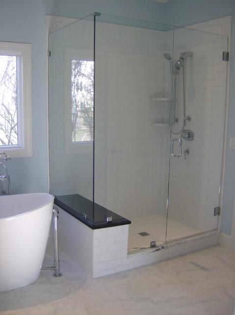 ShowerGuard Frameless Enclosure contemporary-showerheads-and-body-sprays