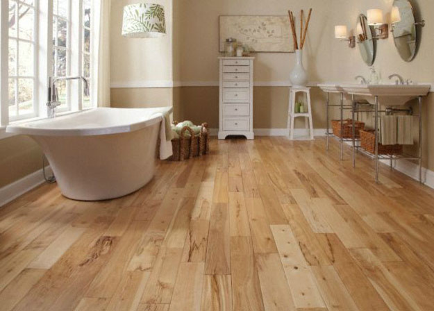 Virginia mill works matterhorn birch handscraped for Birch hardwood flooring