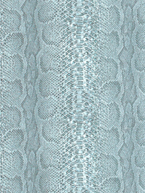 African Queen - This chic snakeskin wallpaper by Washington Wallcoverings is sure to make a statement!