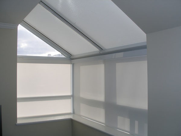Motorized Skylight Blinds Modern Roller Shades