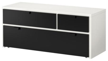 ODDA 3 drawer chest modern-dressers