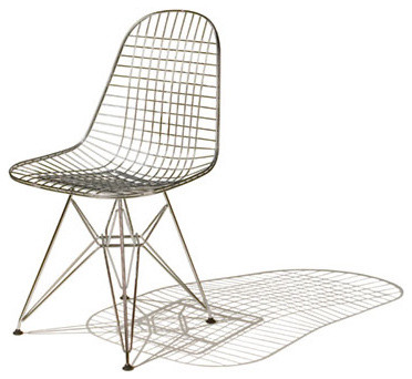 Herman Miller Eames® Wire Chairs modern-living-room-chairs