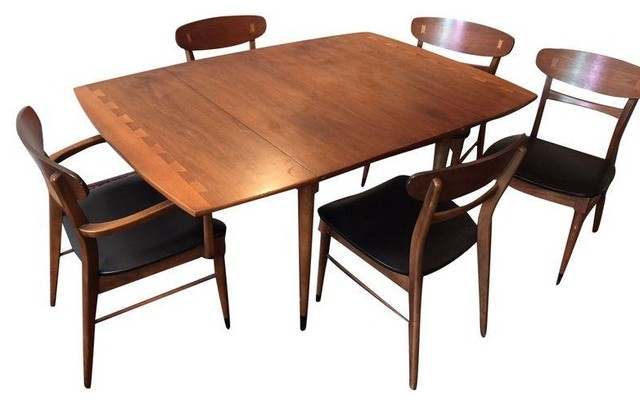 lane co mid century dining set modern dining sets by chairish