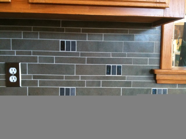 kitchen backsplash around window continue other metro