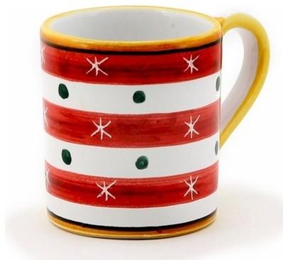 Christmas: Mug 10 Oz. Red mediterranean-mugs