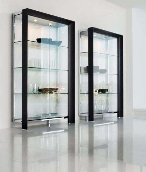 Modern Glass Display Cabinets