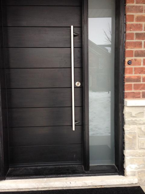 Modern Doors Modern Front Doors Toronto By Fiberglass Doors