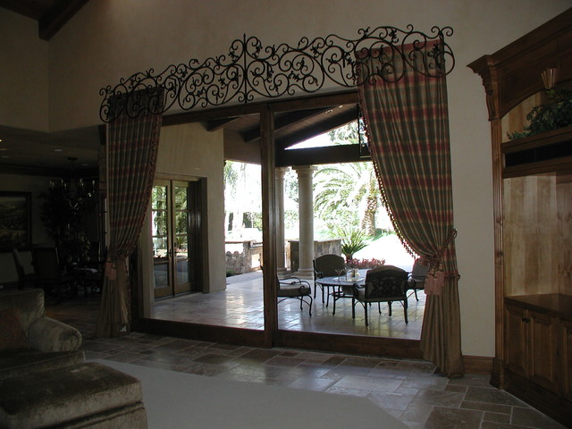 Wrought Iron Cornice : Cornice boxes eclectic curtains san diego by
