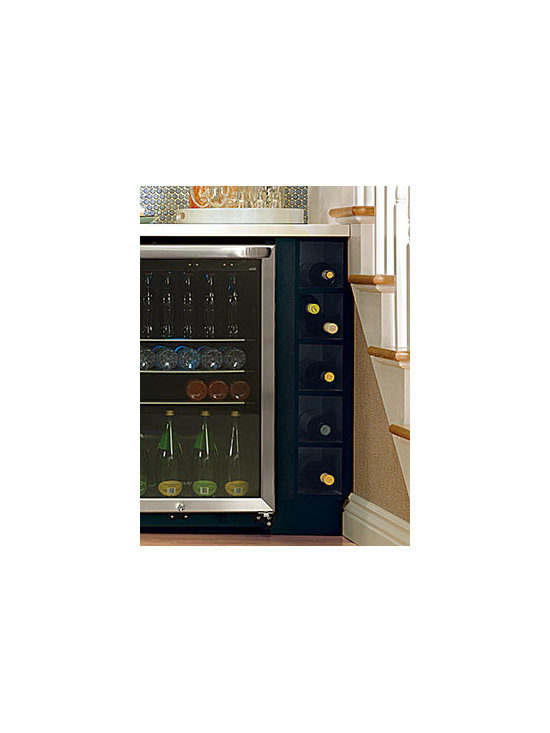 Open Cube Organizer - Open cubes create storage cubbies for small, frequently used items.