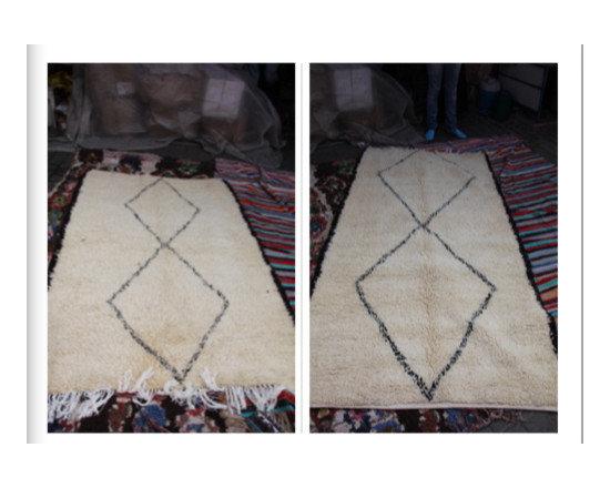 carpets from morocco - great folk art piece