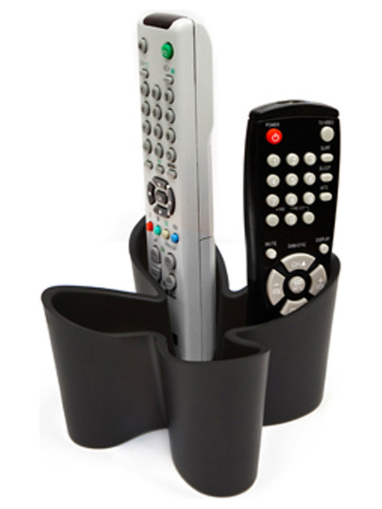 j-me Original Design - No more searching for your remote controls, now you can have a home for them all with the Cozy Remote Control Caddy. Constructed of non slip rubber this eye-catching designer caddy stores up to four (4) remote controls. This tasteful solution adds a visual splash of style to your living room!
