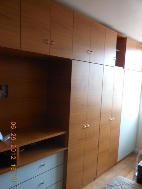 Bedroom Wall Unit 20 Doors contemporary-furniture