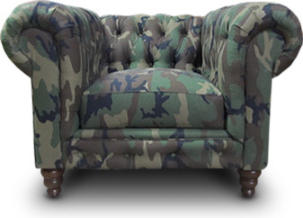 Camo Chair Contemporary Armchairs And Accent Chairs