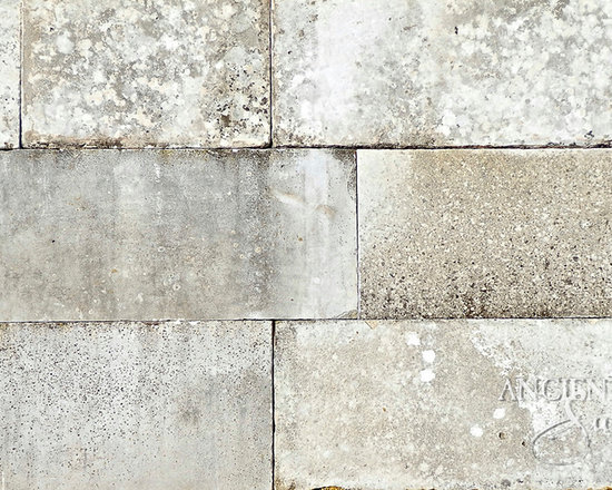 Stone Floors Antique 'Kronos Limestone' Reclaimed Tiles & Pavers - Image provided by 'Ancient Surfaces'