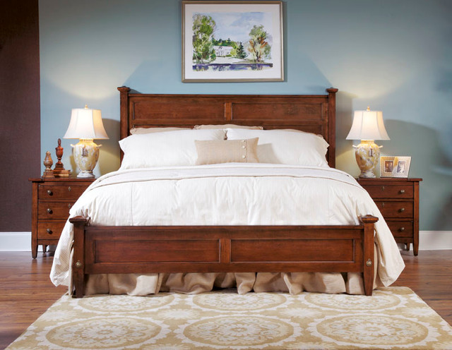 American Drew 210-316R Miller'S Creek Fairmont Panel Bed 6/6-Domestic traditional-beds