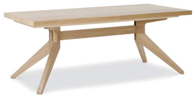Cross Extension Table Contemporary Dining Tables