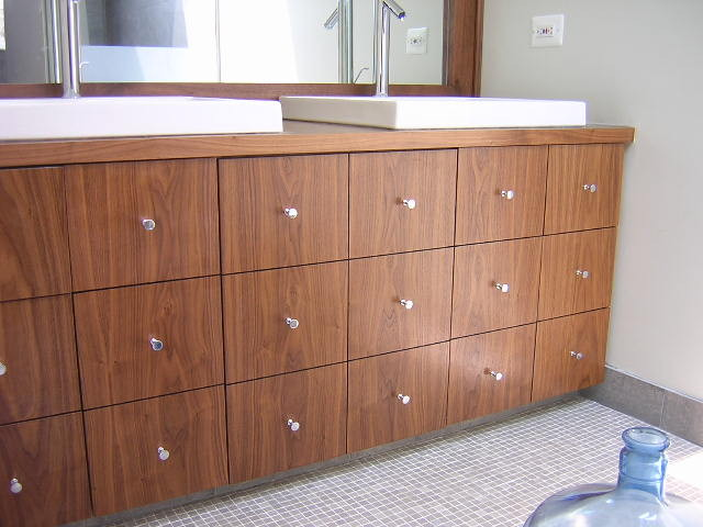 Bathroom Vanities and Cabinets - Various contemporary