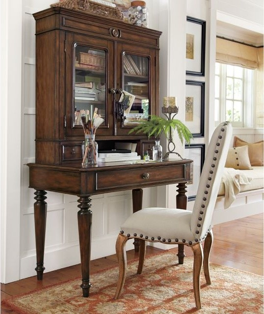 Aniston Desk And Hutch traditional-desks