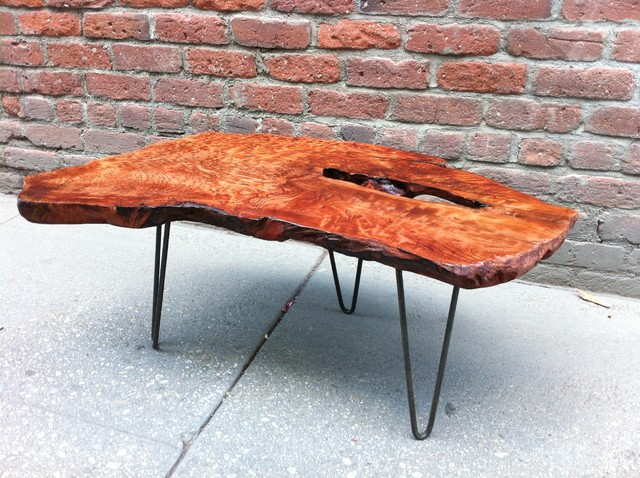 Redwood Burl Coffee Table Rustic Coffee Tables Los