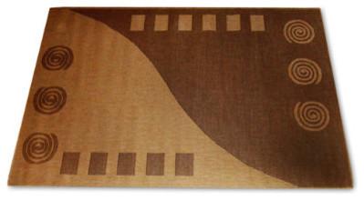 Pueblo Outdoor Area Rug in Cocoa traditional-outdoor-rugs