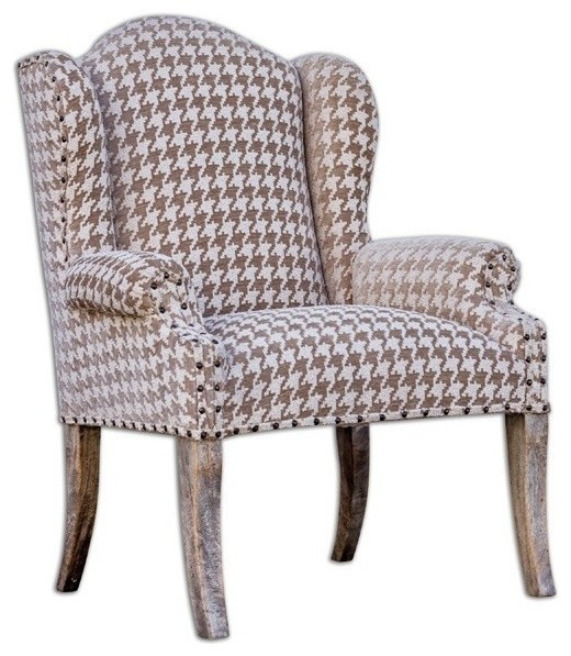 Uttermost Winesett Arm Chair Traditional
