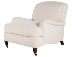 The Morgan Chair - Jayson Home traditional-armchairs-and-accent-chairs