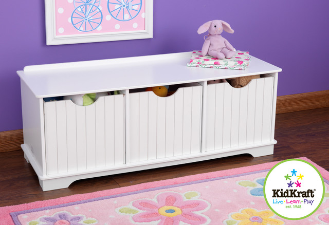 Kids Kraft Nantucket Storage Bench Traditional Accent And Storage Benches Portland By