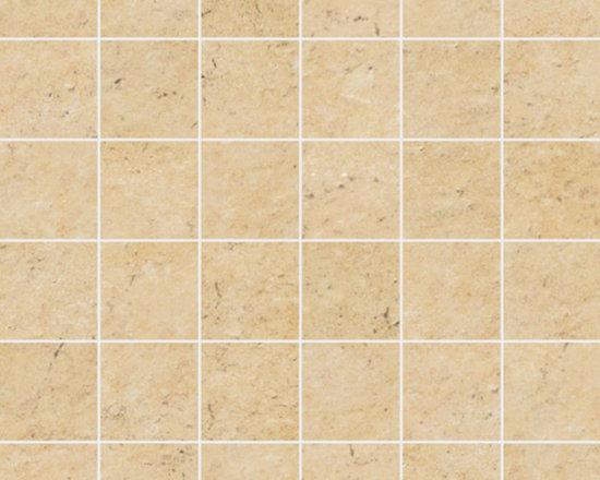 Limestone Collection Cream Gold 2x2 Mosaics -