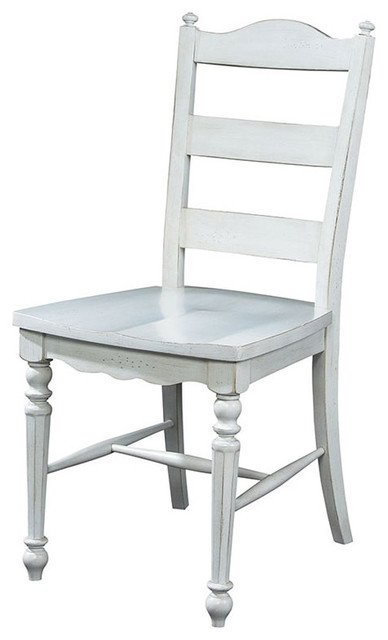 Summer Home Ladder Back Chair traditional-dining-chairs