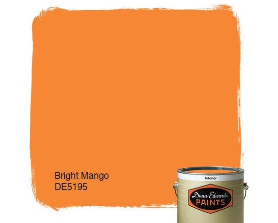 Dunn-Edwards Paints Bright Mango DE5195 -