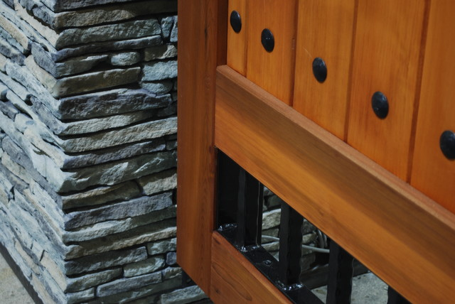Old World Gate Collection - Wood and Iron Gates traditional