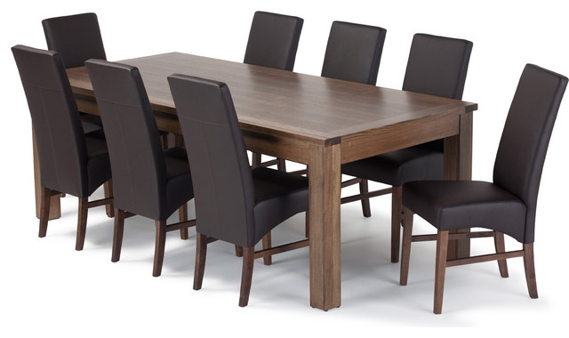 Dining room table and chairs modern dining tables for Dining room table with couch
