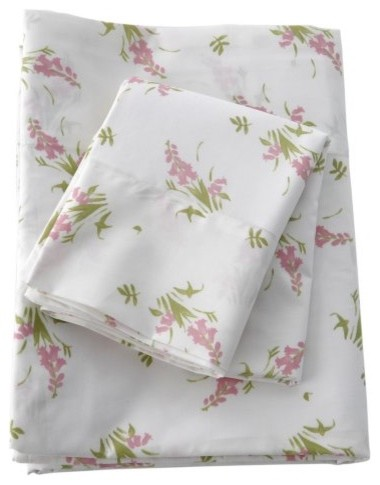 Traditions by Pamela Kline Lily 280 Thread Count Egyptian Cotton Sheet Set traditional-sheets