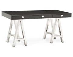 Mason Wood Top Desk | Williams Sonoma desks-and-hutches