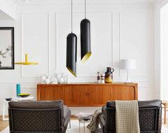 Spanish apartment contemporary-living-room