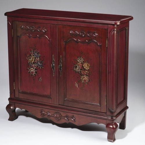 Sideboard in Antique Red modern-buffets-and-sideboards