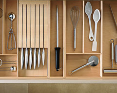 LEICHT Drawers contemporary cabinet and drawer organizers