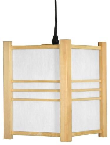 Japanese Genki Hanging Lantern modern-lighting
