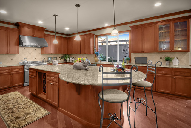 Hudson Heights lot 24 traditional-kitchen