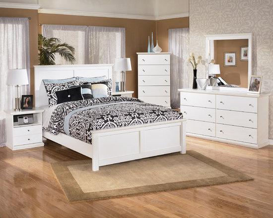 Bedrooms Furniture - Bostwick Shoals White Kids Bedroom Set