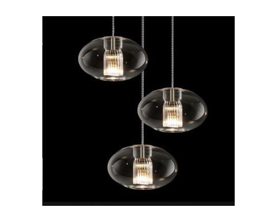 Fairy G Pendant Lamp By Leucos Lighting - Leucos Fairy S/G Pendant Light by Leucos Lighting is a new series of dramatic pendant fixtures available in three shapes.