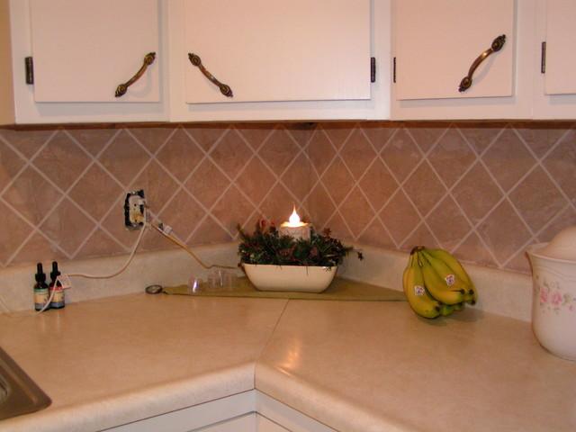 Back Splash traditional-tile