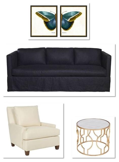 Digital Design Boards eclectic-living-room