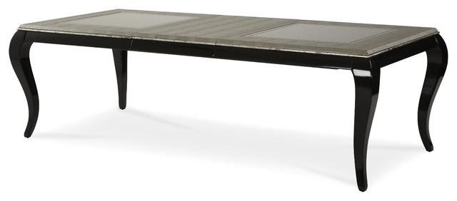 After Eight Rectangular Leg Dining Table Titanium  : modern dining tables from houzz.com size 640 x 282 jpeg 21kB