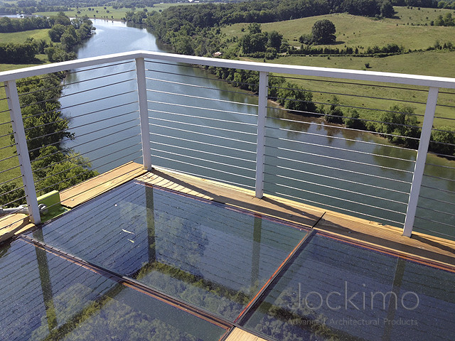 Jockimo Exterior Glass Floor Deck Other Metro By