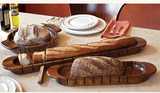 Cross-Cut Artisan Bread Slicers eclectic knives and chopping boards