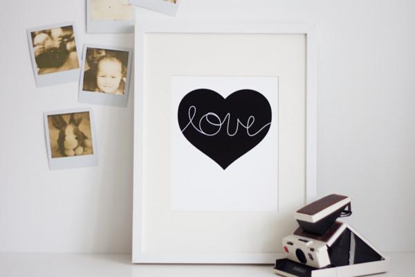 """Heart"" Print by Lovemaki contemporary-artwork"